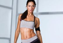 Adriana Lima workout