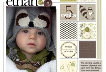 Baby scrapbooking pages
