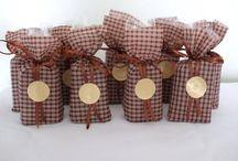 Lembrancinha barra de chocolate natal