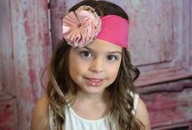 Valentine's Day toppers for your little sweetie / A collection of some of our Valentine's headbands and hair bows