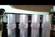 Výzdoba uprostred stola