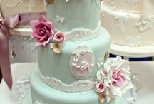 Tori and Alan Wedding Cake