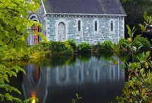 Old houses and Churches / by Sue Kittle