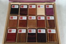 exotic wood / different types of woods, products from solid wood