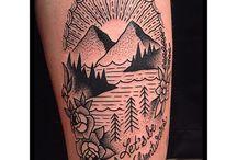 New tattoo ideas - travelling
