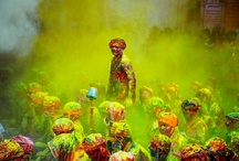"""Holi Festival India / Would this not be awesome to go there to photograph this?!.... / by Nancy """"RAISIN"""" Carter"""
