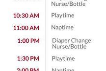 Newborn schedule