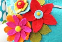 Felt crafts / by Ricki Walker