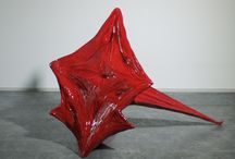 New Artwork / Sculptures depicting the tensional landscape of trauma in the human body.