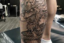 tattoos de dragones