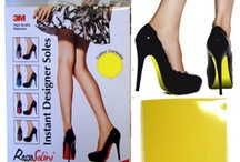 Designer Soles / Redo your shoes. Give them new life.   #shoe #redo #shoeclips
