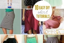 How to - sewing, DIY fashion