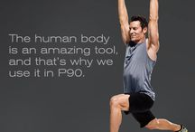 BEACHBODY - P90 / It's like P90X but without the Extreme part. Good for beginners and people who are time-crunched.
