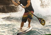 Travis Grant / Australian World Champion Stand Up Paddler Board Racer and World Class Outrigger Canoe Paddler.