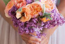 Peach + Lavender Wedding