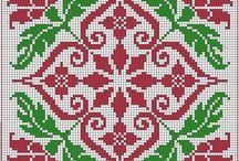 Cross stitch - biscornu