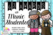 Awards & Certificates / Certificates, awards, celebrations, recitals, and more - for elementary music students, elementary students, piano students, piano lessons