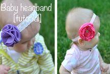 Headbands / Baby headbands / by Susan Melton