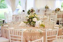 Nunta la cort IssaMariage - Bujoreni / Decoratiuni nunta in aer liber la Muzeul Satului Valcea. Decoratiuni si aranjamente florale realizate de IssaMariage