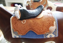 western bridle / Western tack
