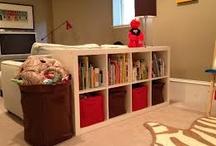 Lounge toy storage