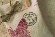 idées créatives :sachets et coussins pour la lavande