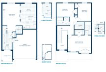 Magnolia Home Design / Single Homes 1665 sq. ft.  3 bedrooms