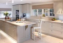 Our Kitchens / Kitchens that we've designed and built, totally bespoke, totally beautiful... Come and see our kitchen showroom at 11 Holywell Hill, St Albans, Hertfordshire. www.janecheelfurniture.com