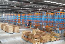 Pallet Racking / This modular, bulk storage system has been designed for the safe storage, loading and unloading of palletised loads by fork lift trucks, pallet trucks and low height hand loading.
