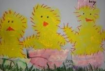 Spring Art Ideas / by Emma Boyer-Shaul