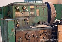 Old industrial Machines