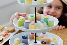 Tea party bridal shower / by Dionne Greif