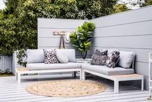Light & bright outdoor spaces