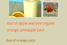 Apple & Eve Organics / Looking for a delicious base for your smoothies? Look no further! #PurelyOrganics #Contest.