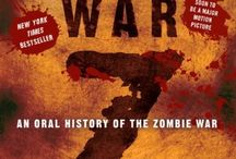 Survive a Zombie Apocalypse / These are books that will help you survive a zombie apocalypse.