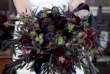 { Moody & Dark } - Wedding Florals