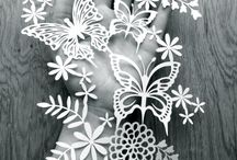 Paper Cutting Pretties / Beautiful paper cuttings.