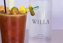 Willa Vodka Bloody Mary.