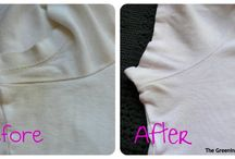 remove stains off white clothes