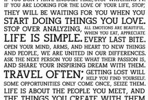 quotes & inspirations