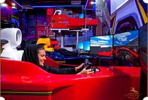 Xxtreme Simulation Racing Club / Conceptualization and Interior Design for Dubai's best racing simulation venue by The First Ferry  http://www.thefirstferry.com
