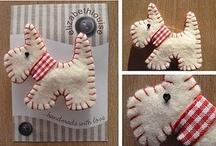crafty ideas....felt inspritation / by Buffye Sithideth