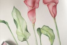 OUR WATERCOLOUR WORK - by Emerald Paper