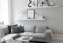All the shades of grey / Grey interiors inspirations