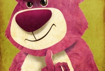 Lotso and friends on toy story