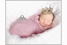 Newborn Portraits / A showcase of recent Family Portrait images taken by Katherine in the Ocean Eyes studio.