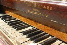 Beauty of pianos