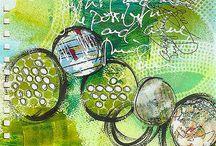 Inspiratie mixed art
