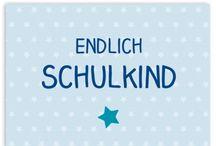 Schulanfang / #Einladungen, #Dankeskarten und vieles mehr zum #ersten #Schultag