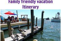 Family friendly vacations